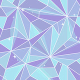 Seamless graphic design. Crystal