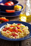 tagliatelle peperonata 