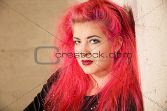 Punk Teen Female in Corner