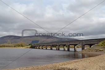 Bridge over Blessington Lake Wicklow Ireland
