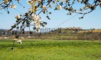 Postcard from Monteriggioni