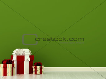 Multicolored  presents
