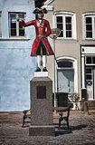 The Kagmand statue in Tonder, Denmark