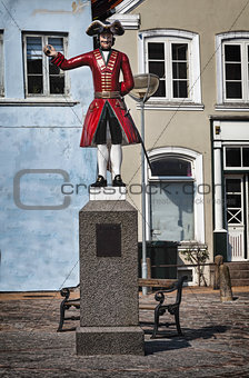 The Kagmand statue in Tonder, Denmark