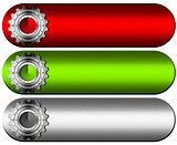 Gears Industrial Banners