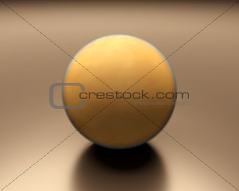 Saturn Moon Titan blank
