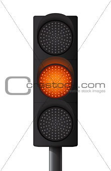 Orange/Yellow traffic light