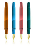 Colorful Fountain Pens
