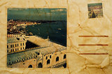postcard of Venice, Italy