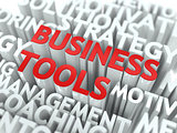 Business Tools Concept.