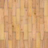 Yellow Wood Parquet Floor. Seamless Texture.