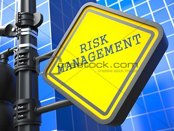 Business Concept. Risk Management Waymark.