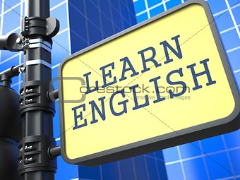Learning Language - English Concept.