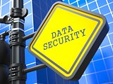 Secure Concept. Data Security Waymark.