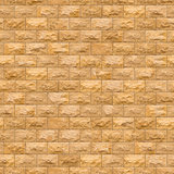 Seamless Texture of Yellow Brick Wall.