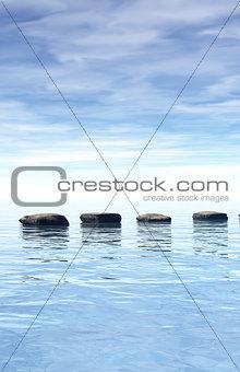 stones path