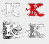 font K