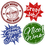 Work award stamps