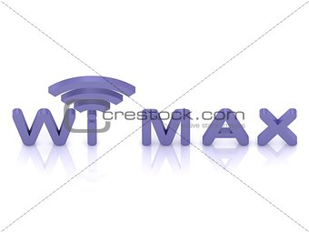 abstract Wi MAX logo
