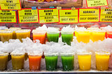 Fresh drinks for sell