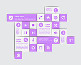 Design elements and templates. EPS10 vector illustration.