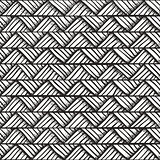 Hand drawn monochrome seamless pattern.