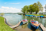 boats on the Chiemsee, Germany