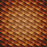 Gold gradient geometric cubic background