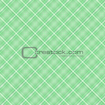 Seamless cross green shading diagonal pattern