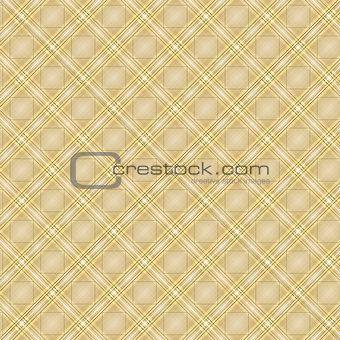 Seamless cross brown shading diagonal pattern