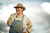 1930s farmer smiling
