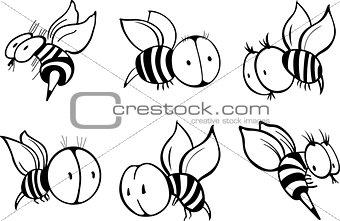 Set of bee