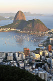 Sugarloaf and Guanabara Bay