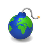 The Earth bomb