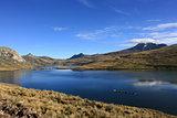 Huaylacancha Lagoon Andes Peru