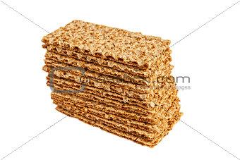 Sesame crispbread