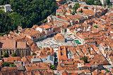 Cityscape of Brasov