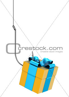 Gift on hook