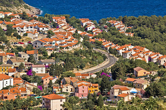 Mediterranean style houses by the sea