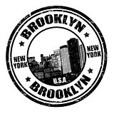 Brooklyn stamp