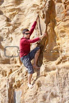 bouldering outdoor