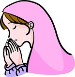 woman  prayer