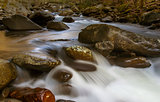 Smoky Mountains water stream
