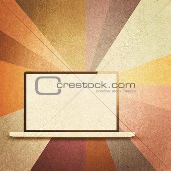 retro hi-tech background