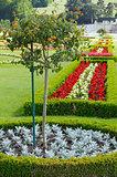 Flower landscaping