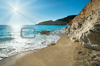 Porto Katsiki beach (Lefkada, Greece)