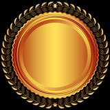 Bronze round frame