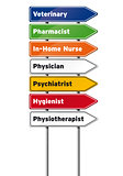 Medical Professions Signs