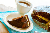 cocoa cake dessert brownie sweet coffee cup