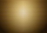 Gold metal pattern